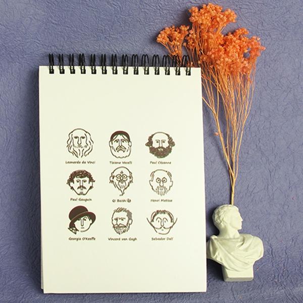 【Mapus】藝術家們的筆記本