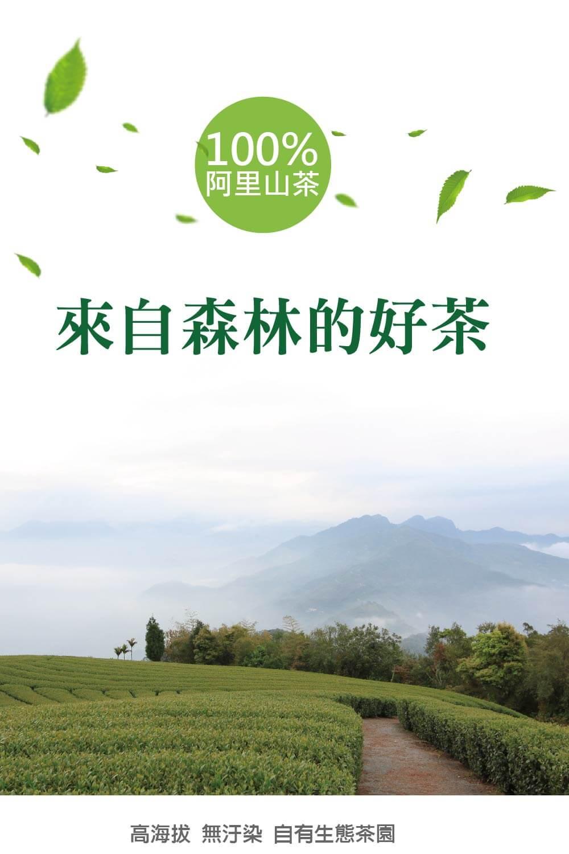 阿里山茶園風貌阿里山得天獨厚的森林、雲海與生活的味道